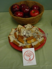Amity Apples and Peace Bread
